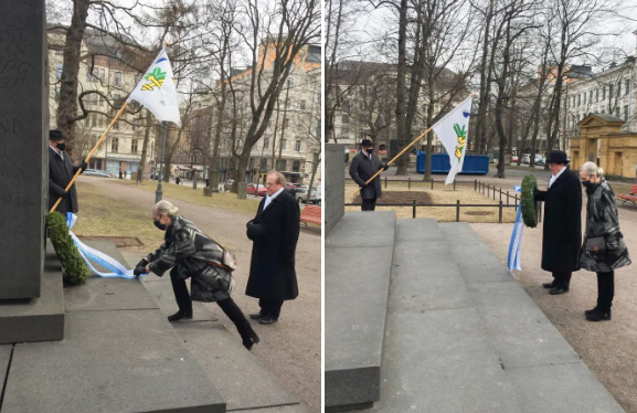 Kunniaa Helsingin vapautuksessa kaatuneille